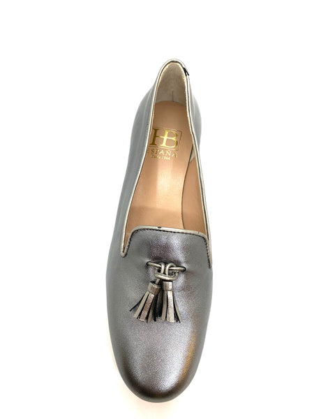 HB Shoes Clover Ladies Tab Front Tassel Pump