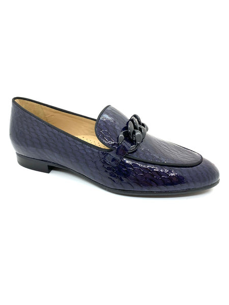 Maria Lya Ladies Croco Print Loafer