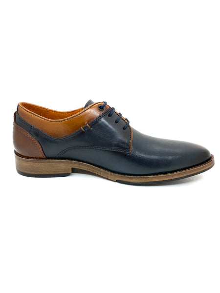 Savelli Men's 2 Tone Lace Up Shoe
