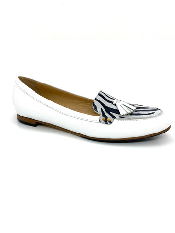 HB Italia Lilly 543 White Loafer