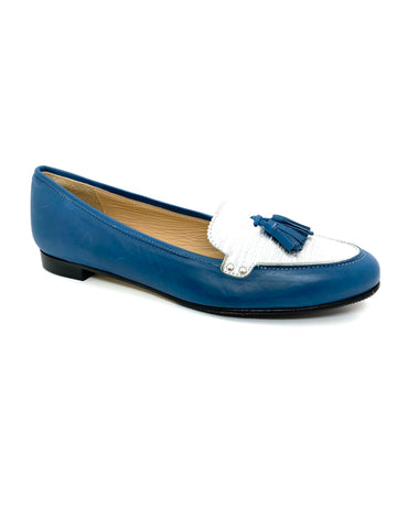 HB Shoes Lilly 543 Denim Flat Pump
