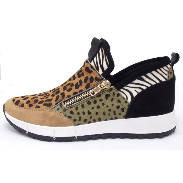 Django & Juliette Jasiel Ladies Zip Sneaker