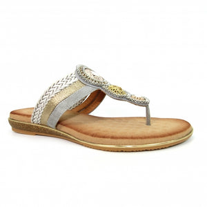 Lunar Carlotta Ladies Toe Post Sandal Mule