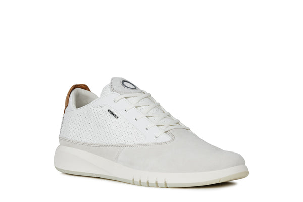 Geox Aerantis Mens Trainers White