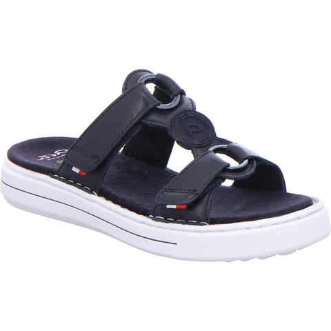 Ara Ladies Adjustable Mule Sandal Navy