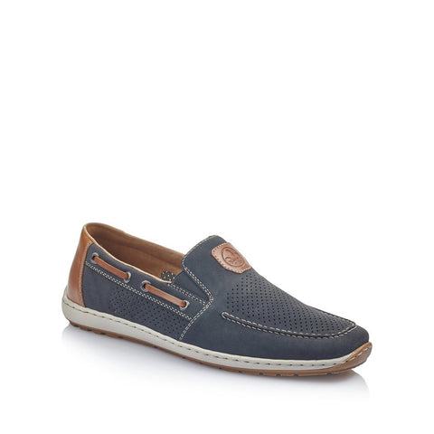 Rieker Men's Slip On Deck Shoe