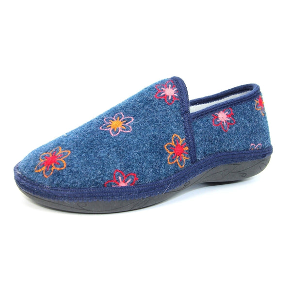 Lunar ladies Full slipper Camden Blue