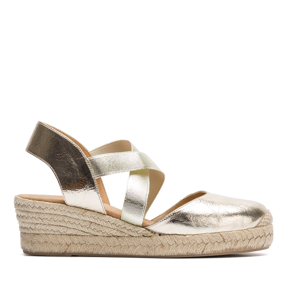 Cele High Wedge Heel Espadrille