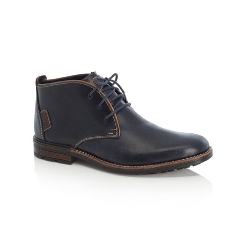 Rieker Men's Boot Navy Leather
