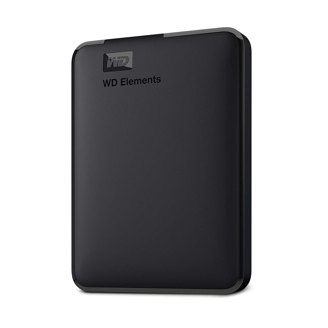 Western Digital Disco Duro Externo Portatil, 1Tb, Wd Elements, Negro 2.5/USB3.0/Win