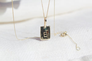 Personalised dainty medallion necklace