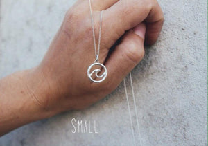 Round Wave necklace