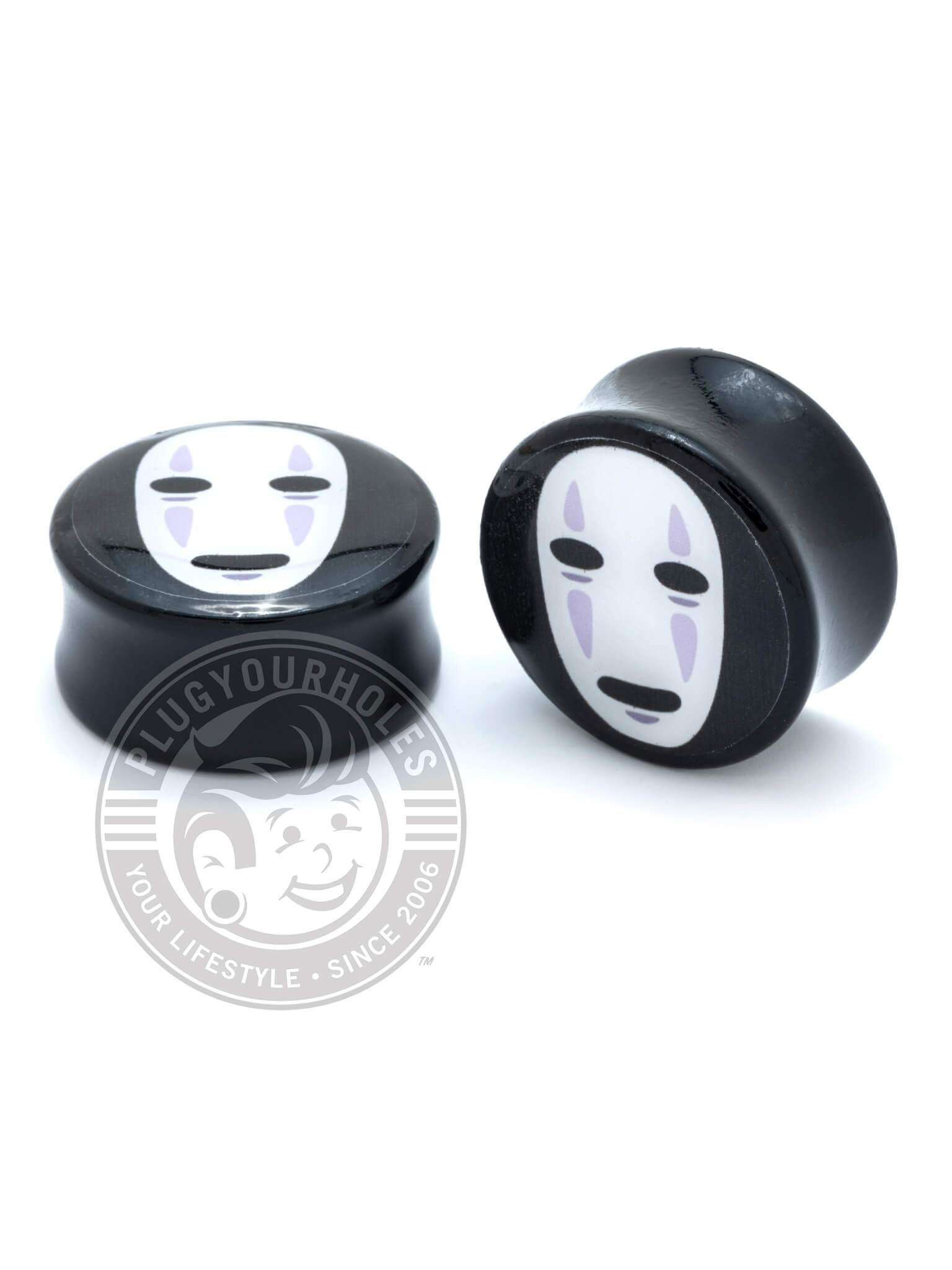 No Face - Acrylic - Image Plugs