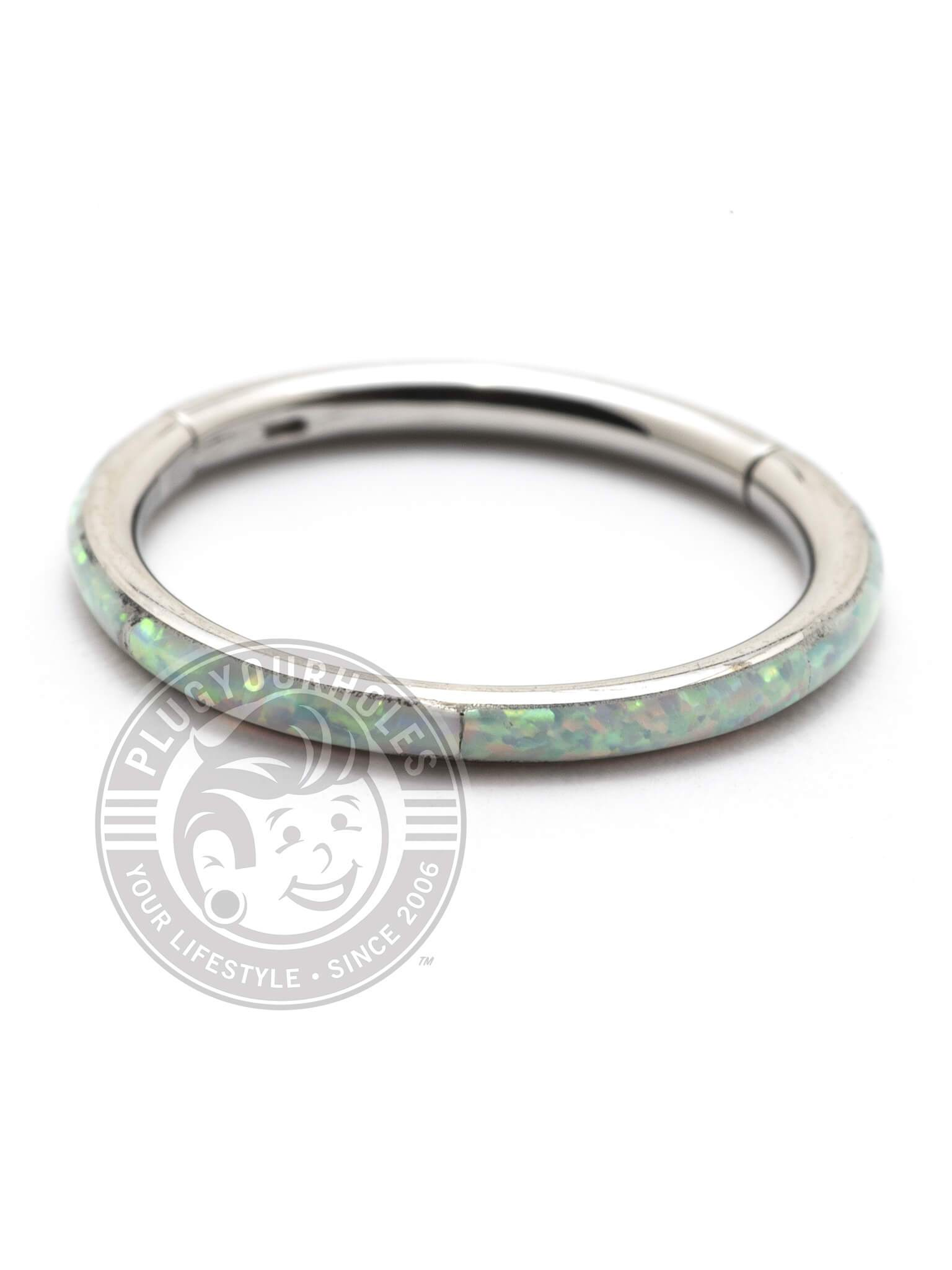 Opal Ring Steel Clicker