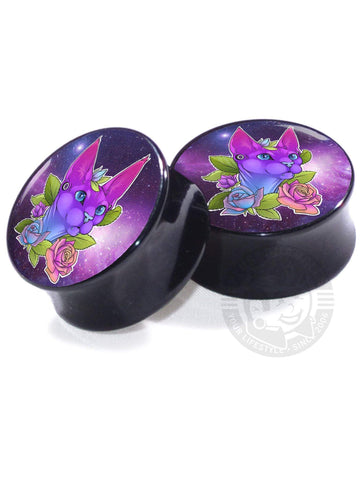 Galaxy Sphynx - Limited Edition - Image Plugs - Plug Your Holes - Your Lifestyle, Since 2006.