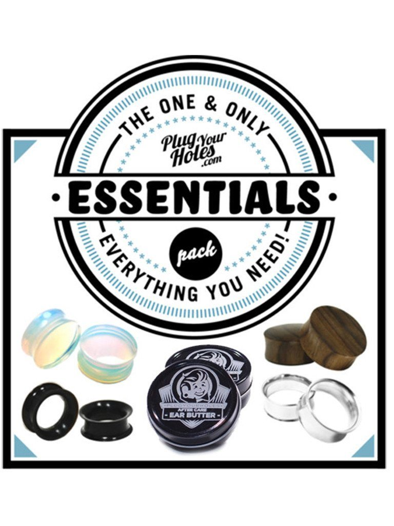 Essentials Plug and Tunnels Pack - Plugyourholes.com