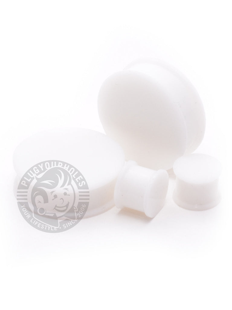 White Silicone Plugs - Plug Your Holes - Your Lifestyle, Since 2006.