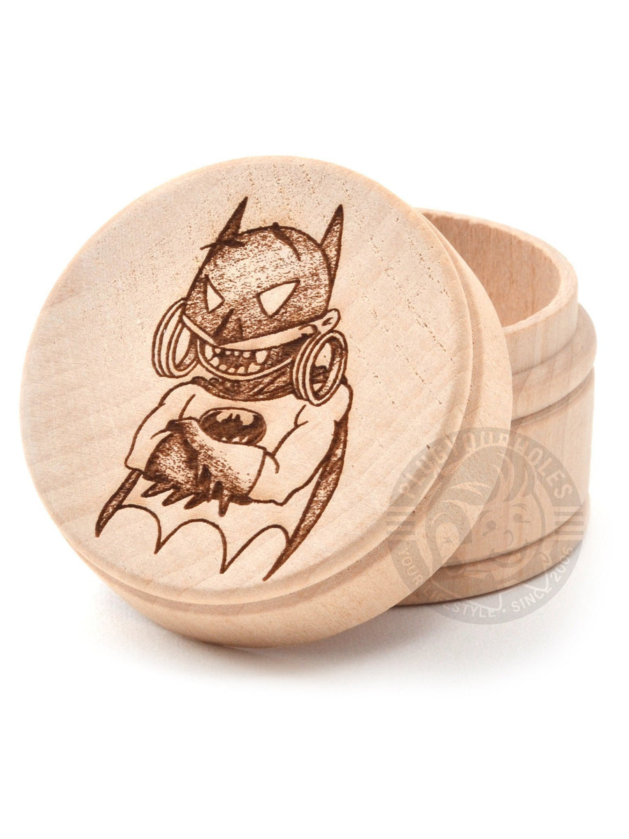 Bushido Dark Knight - Engraved Plug Box