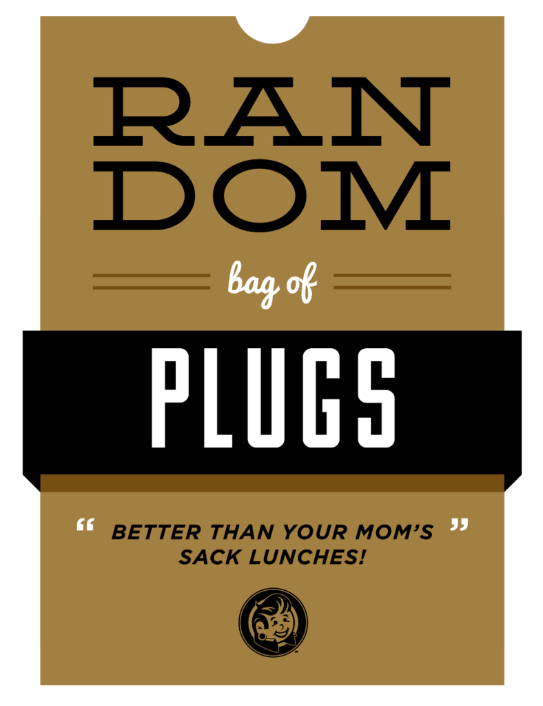 Random Bag Of Plugs - Plugyourholes.com