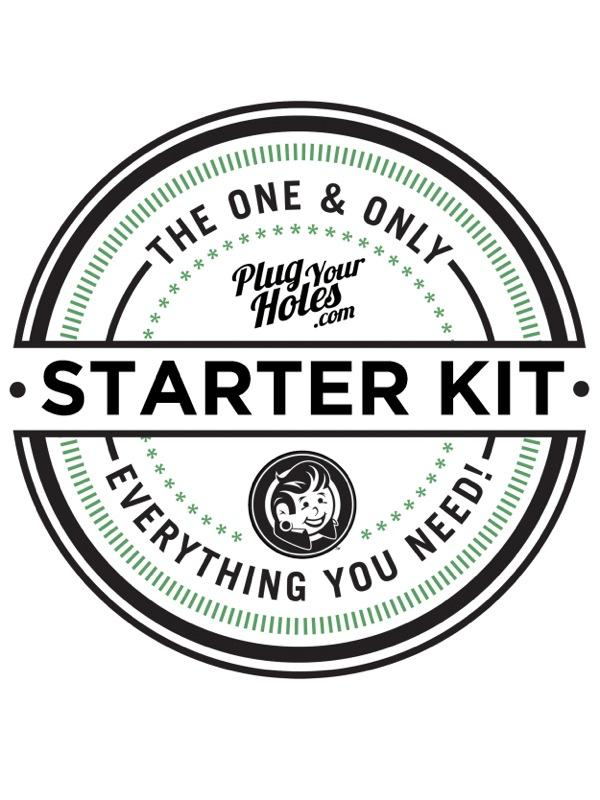 16g - 0g Starter Kit - Plug Your Holes - Your Lifestyle, Since 2006.