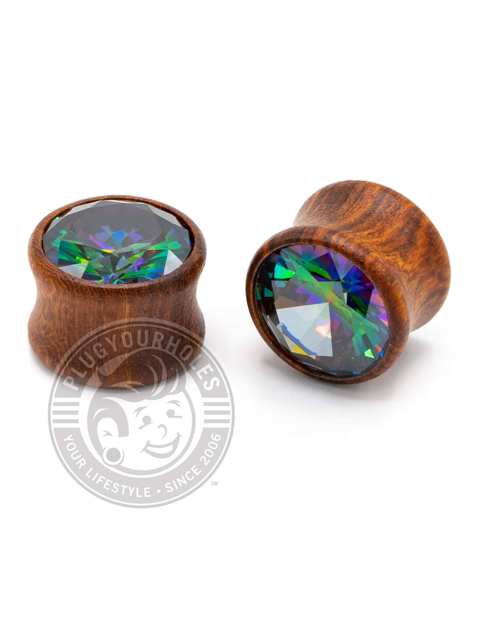 Vitrail Big Bling Wood Plugs