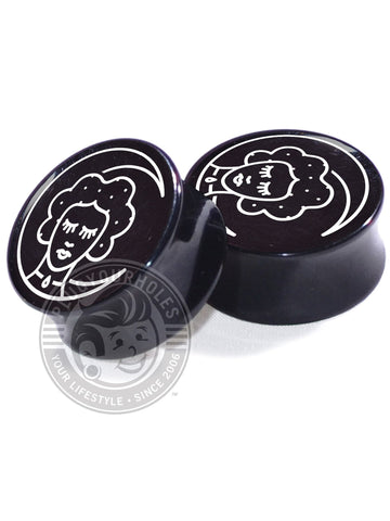 Moon Sleeper - Black - Image Plugs