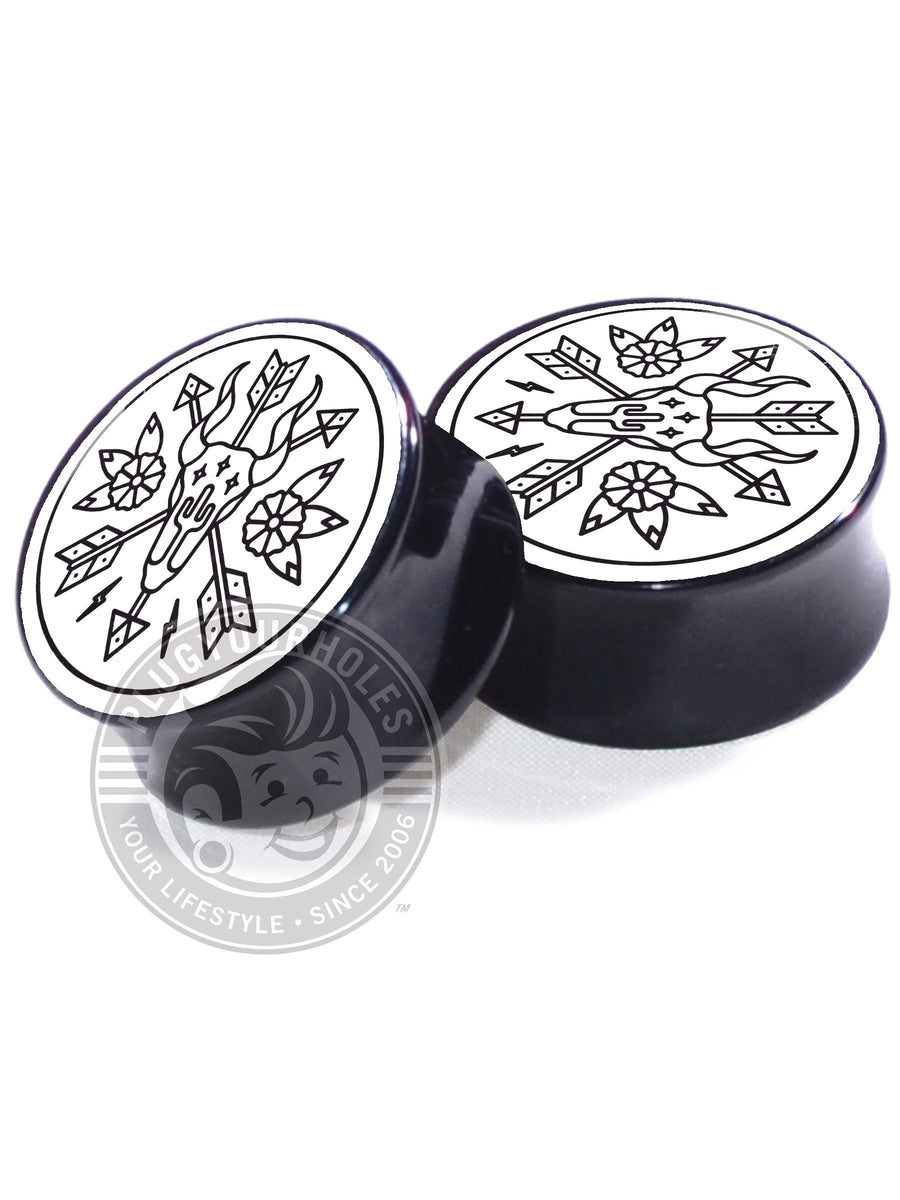 Wester Dream - White - Image Plugs - Plugyourholes.com
