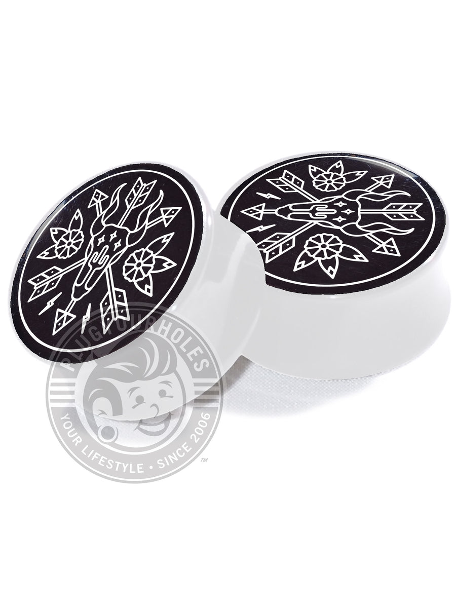 Wester Dream - Black - Image Plugs - Plugyourholes.com