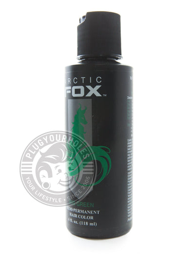 Iris Green by Arctic Fox - Semi-Permanent Hair Dye - Plugyourholes.com