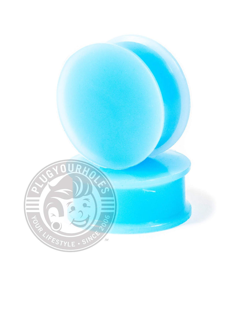 Light Blue Silicone Plugs