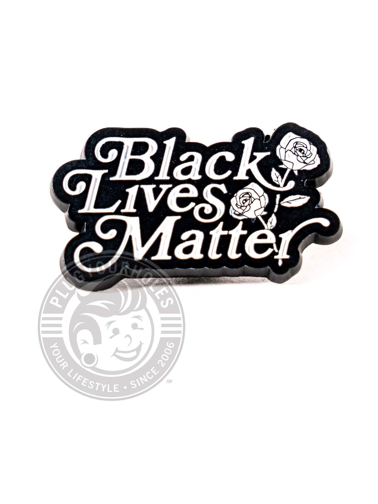 Black Lives Matter (by @jonisthenewblk) - Enamel Pin