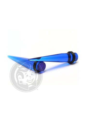 Blue Acrylic Tapers - Plugyourholes.com