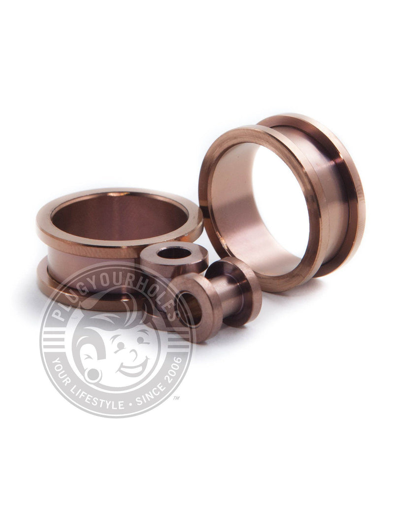 Bronze Threaded Steel Tunnels