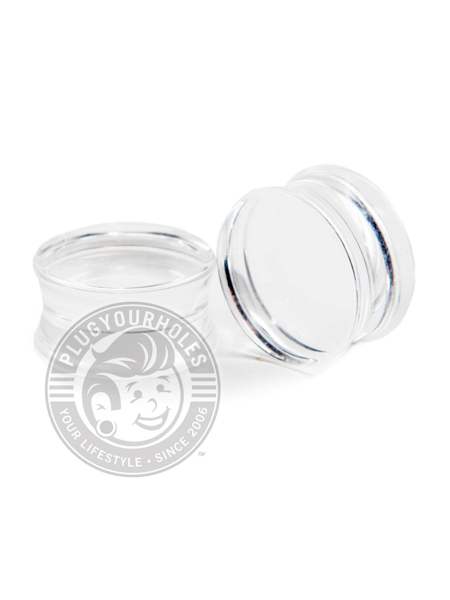 Clear Acrylic Plugs