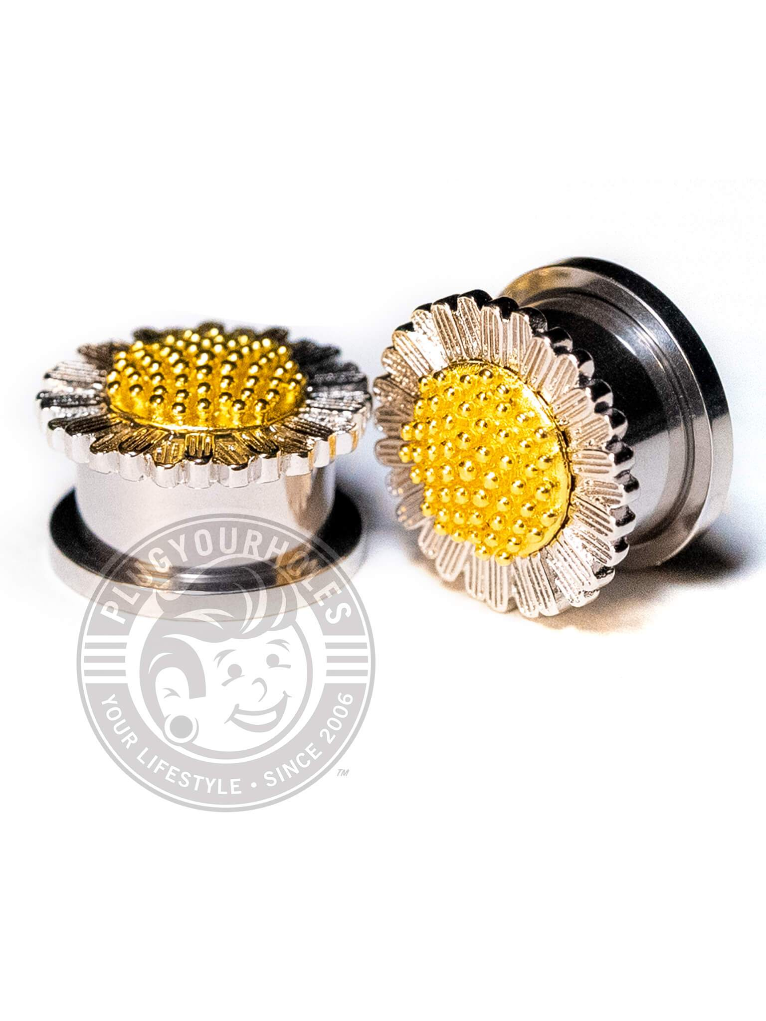 Daisy Threaded Steel Plugs