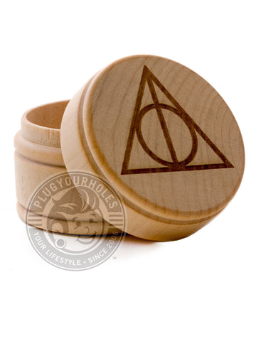 Deathly Hallows - Engraved Plug Box