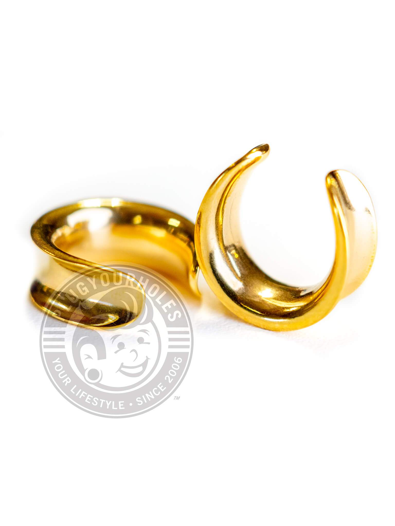 Gold Crescent Steel Saddles