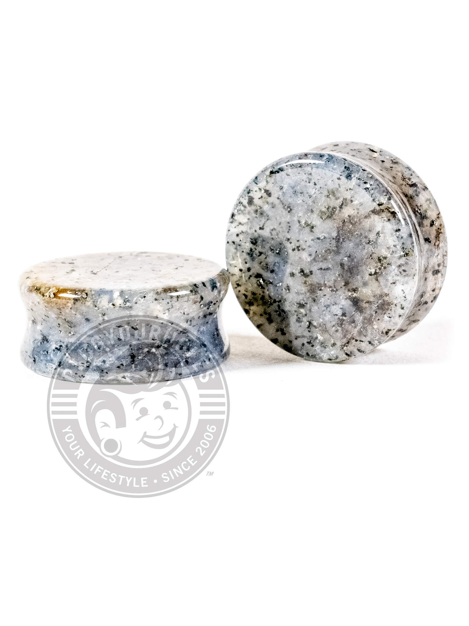 Grass Quartz Stone Plugs