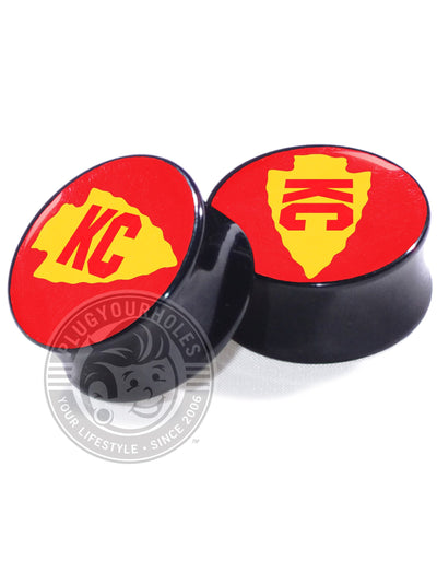 KC Arrowhead - Image Plugs