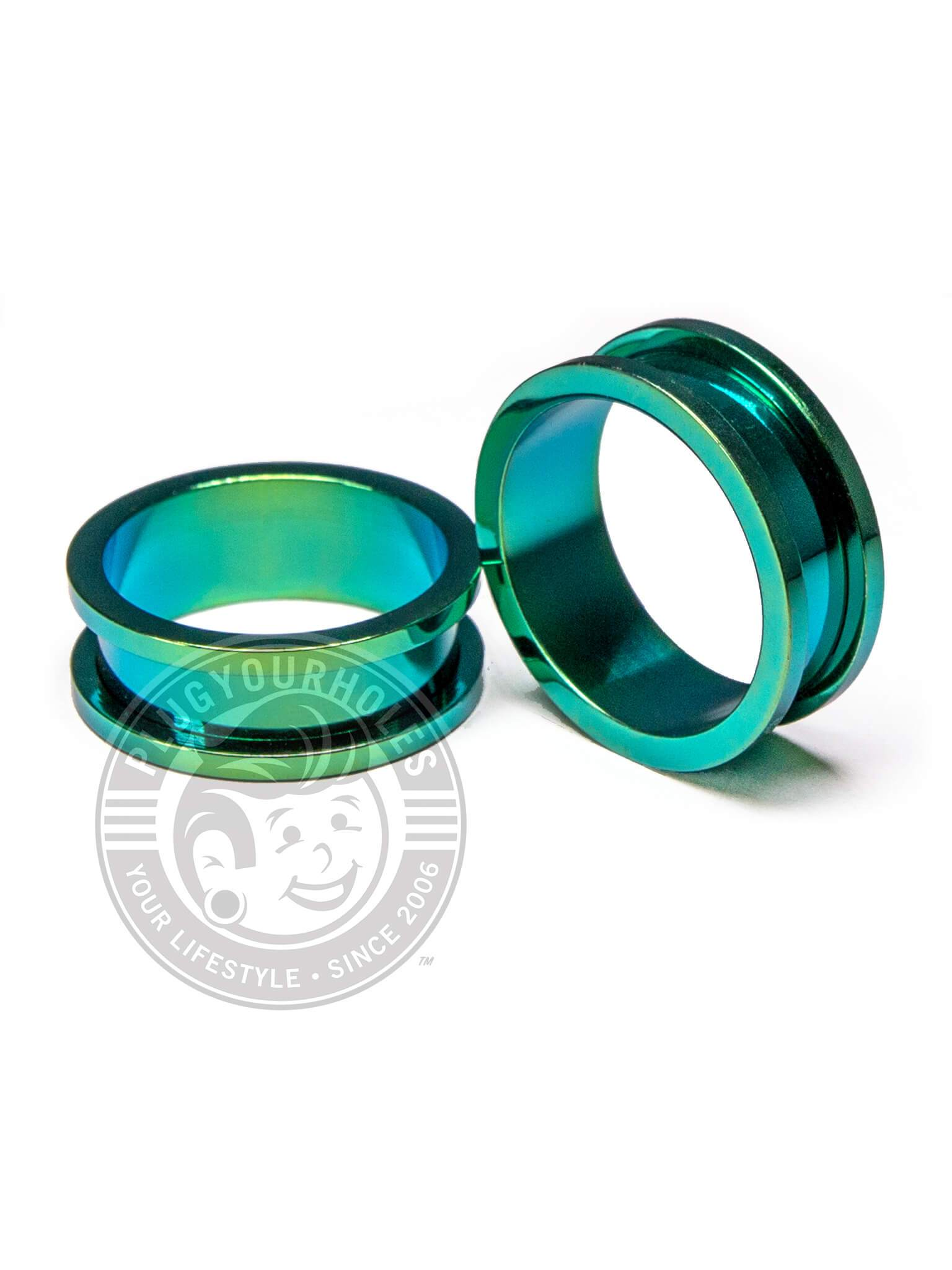 Green Threaded Steel Tunnels