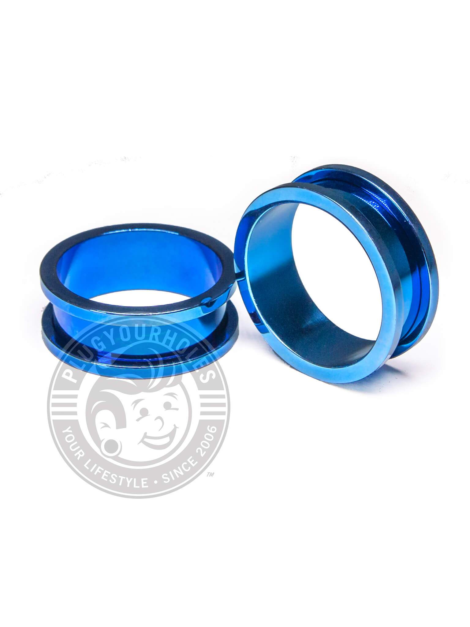 Blue Threaded Steel Tunnels