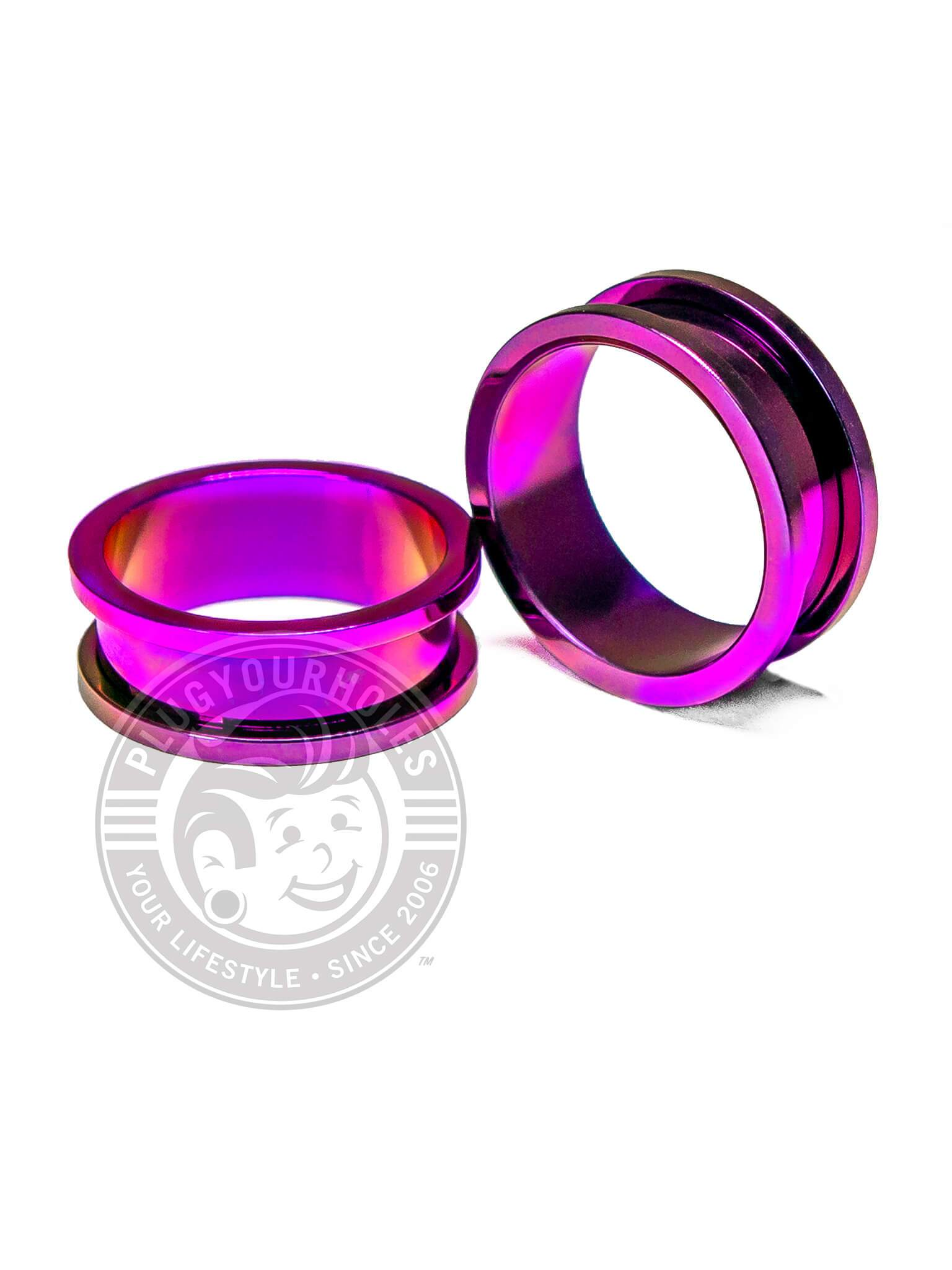 Purple Threaded Steel Tunnels