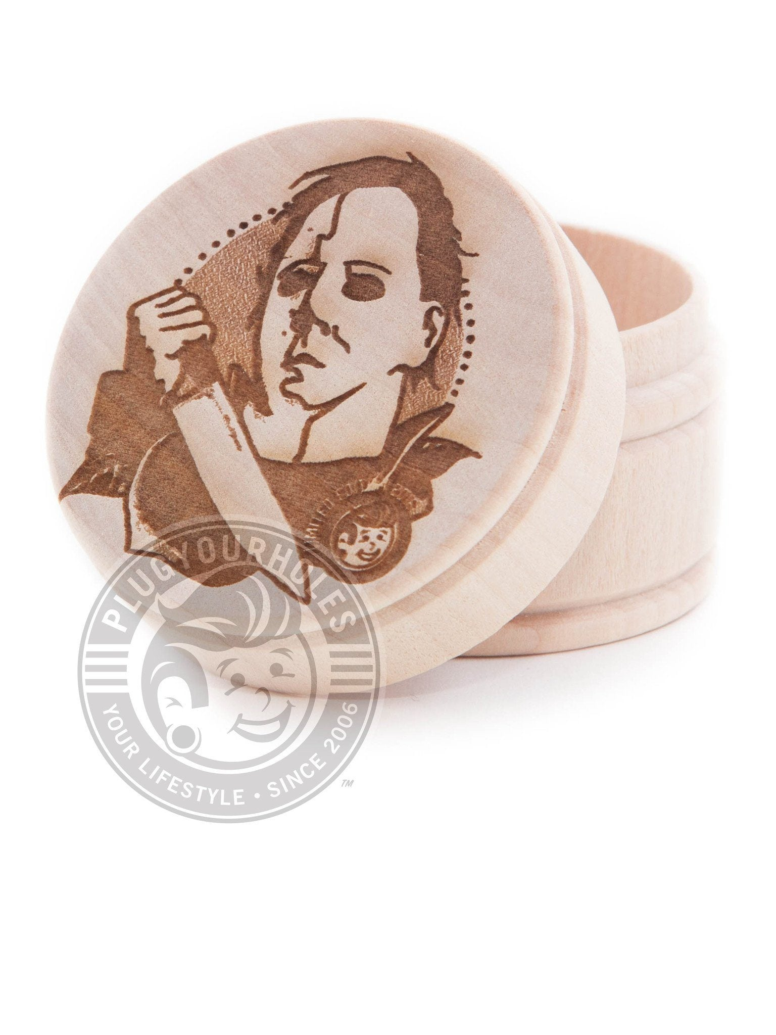 Michael Myers Engraved Plug Box - Limited Edition