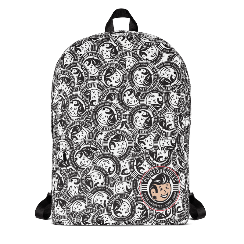 Plug Boy - All-Over Print - Backpack