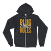 PlugYourHoles Text - [2012 Throwback] - Unisex Zip Up Hoodie