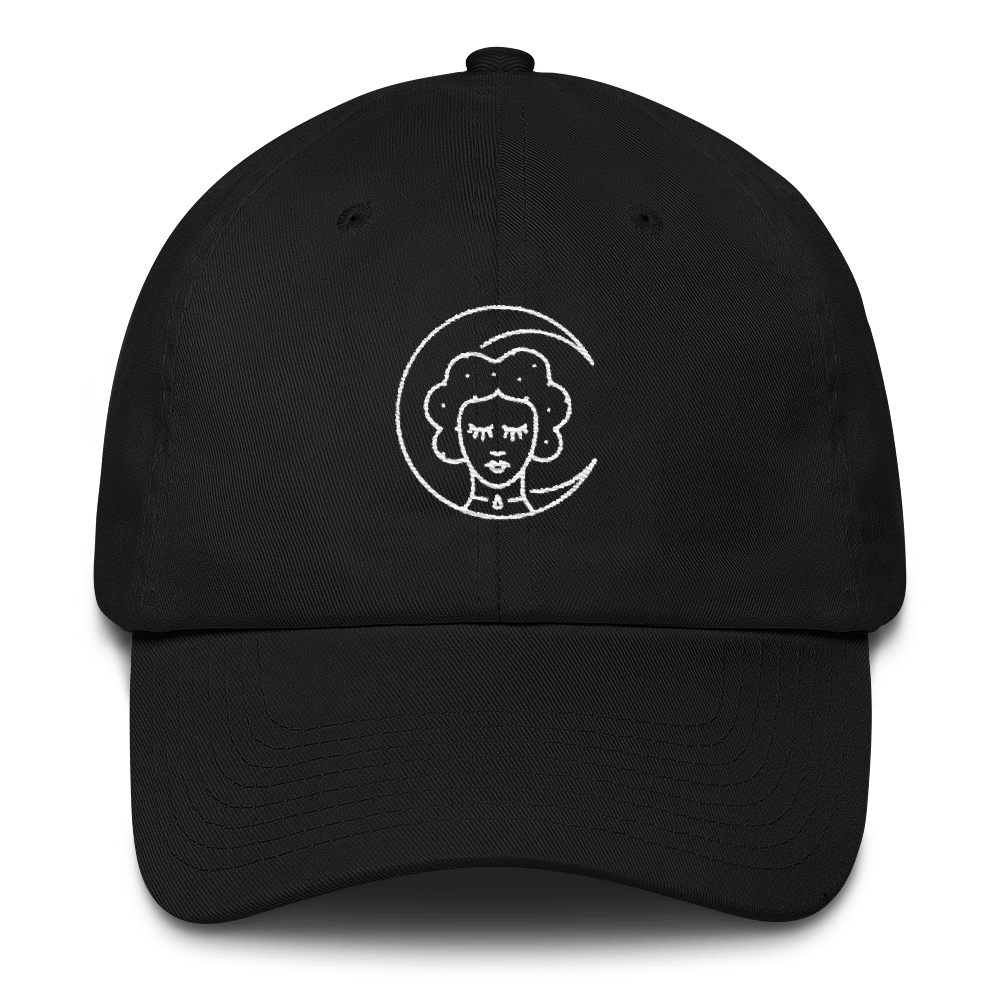 Moon Sleeper - Embroidered Dad Hat