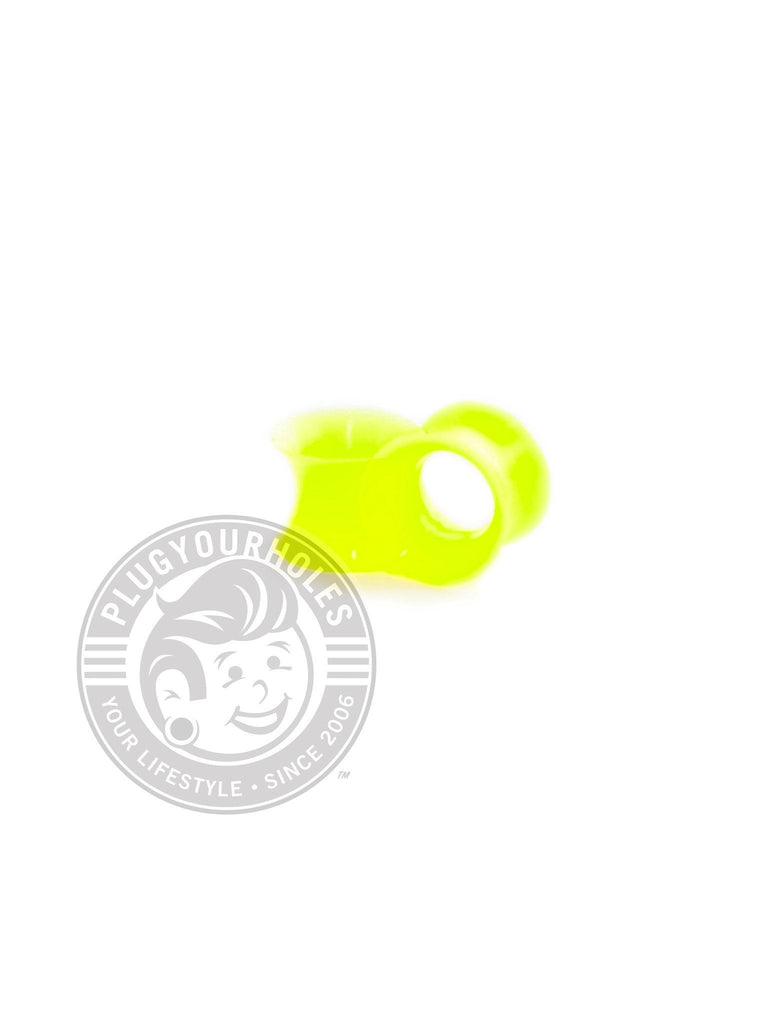 Neon Yellow Green Silicone Ear Skins