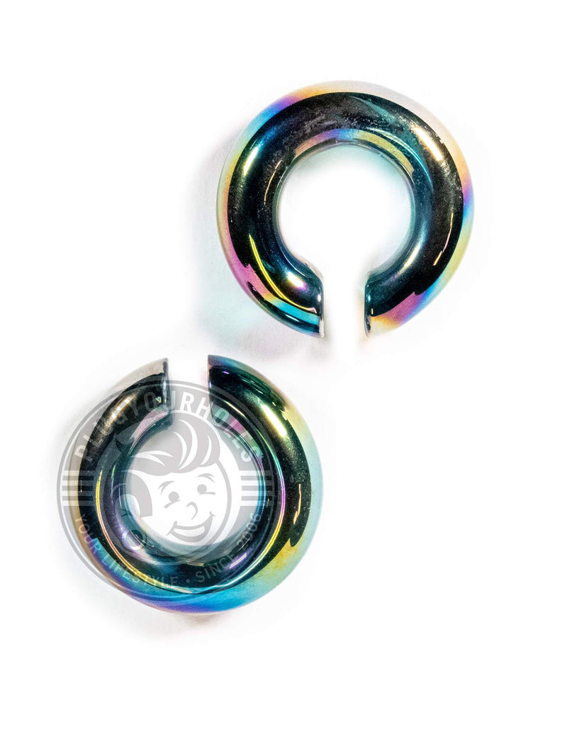 Aurora Glass Open Hoop Hangers