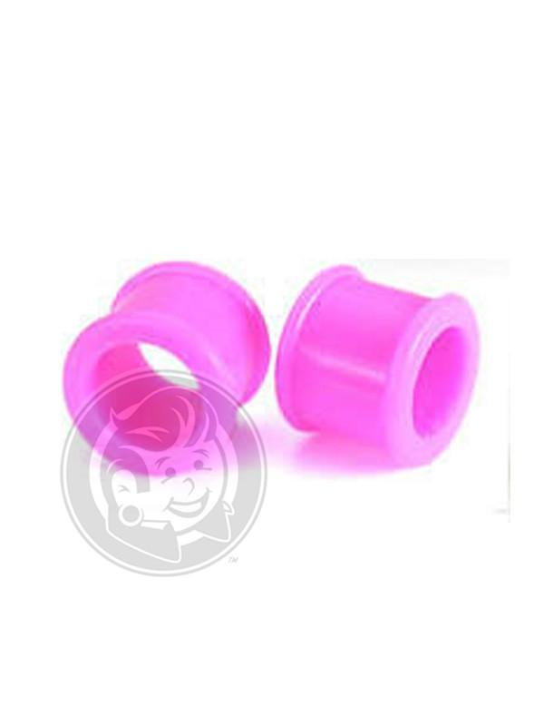 Pink Silicone Tunnels - Plug Your Holes - Your Lifestyle, Since 2006.
