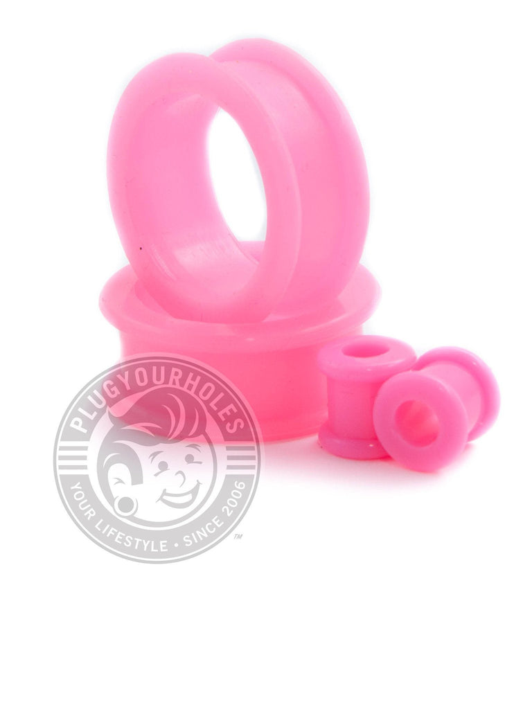 Pink Silicone Tunnels